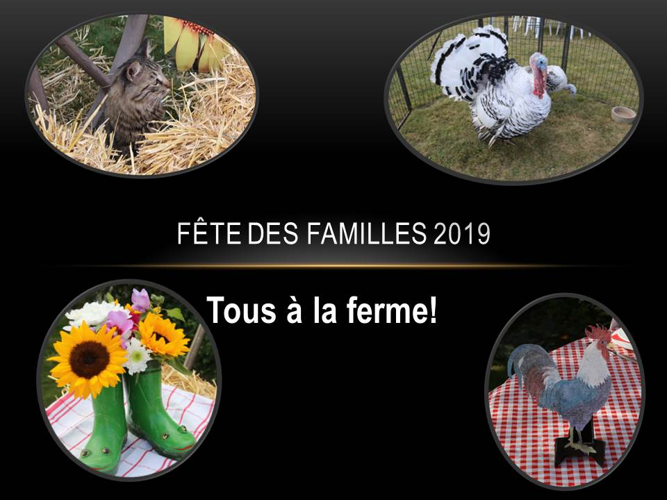 Fête des familles 2019