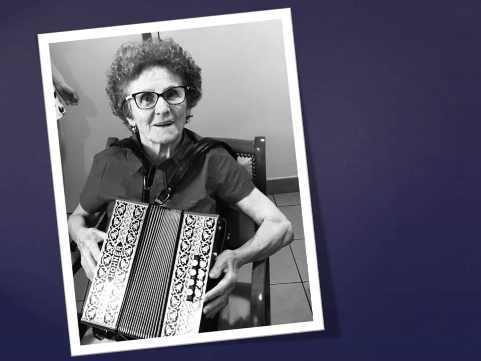 Merci Jacky notre accordéoniste!